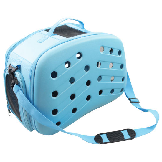 The Pet Life Narrow Shelled Perforated Lightweight Collapsible Military Grade Transportable Designer Pet Carrier