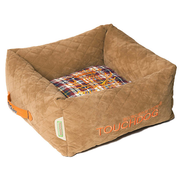 The Pet Life Helios Trail-Barker Multi-Surface Travel Dog Bed Featuring BlackShark Technology