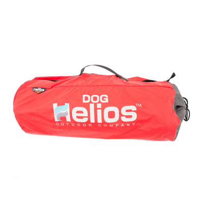 The Pet Life Helios Trail-Barker Multi-Surface Travel Pet Bed Featuring BlackShark Technology