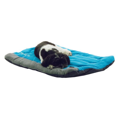 The Pet Life Helios Combat-Terrain Outdoor Cordura-Nyco Travel Folding Pet Bed