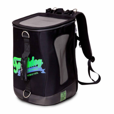 The Pet Life Touchdog Ultimate-Travel Airline Approved Backpack Carrying Water Resistant Pet Carrier