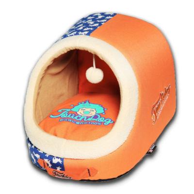 The Pet Life Touchdog Rose-Pedal Patterned PremiumRectangular Dog Bed
