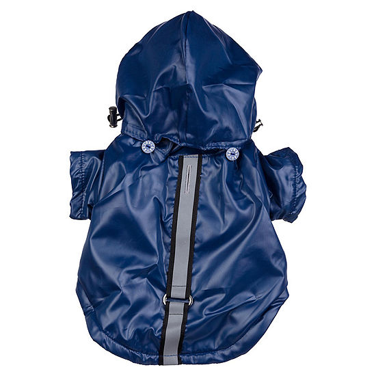 The Pet Life Reflecta-Sport Adjustable Weather-Proof Pet Windbreaker Jacket
