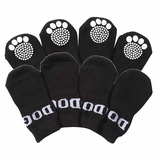 The Pet Life Pet Socks W/ Rubberized Soles