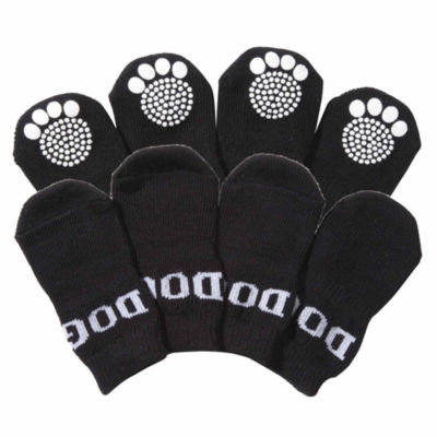 The Pet Life Pet Socks W/ Rubberized Soles