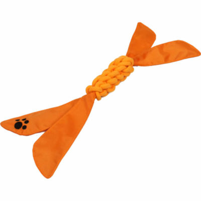 The Pet Life Extreme Twist' Squeak Pet Rope Toy