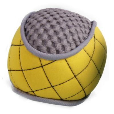 The Pet Life Bark-Active Neoprene Mesh Flotation Ball Fetch Dog Toy