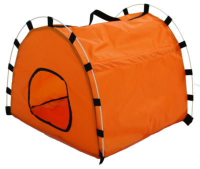 The Pet Life Skeletal Outdoor Travel Collapsible Pet House Tent