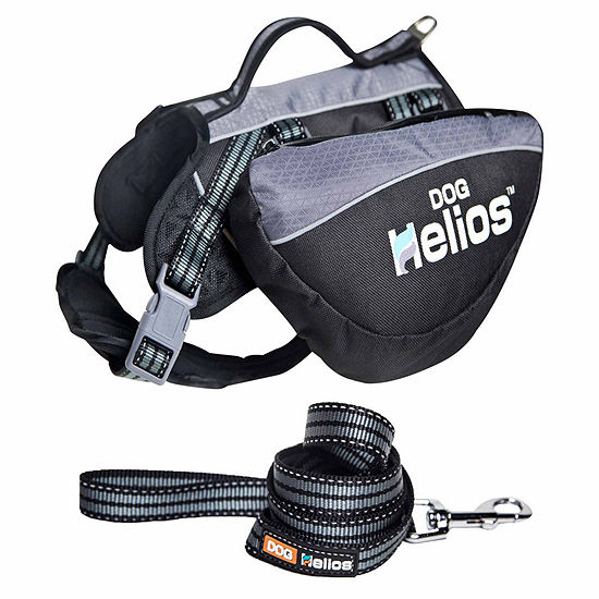 The Pet Life Helios Freestyle 3-in-1 Explorer Convertible Backpack, Harness and Leash
