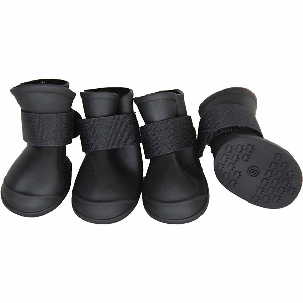 The Pet Life Elastic Protective Multi-Usage All-Terrain Rubberized Dog Shoes