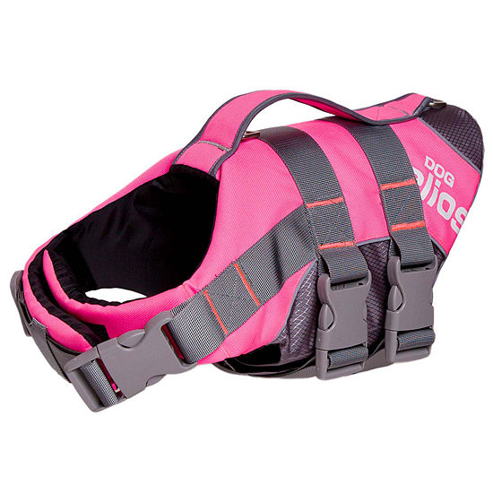 The Pet Life Helios Splash-Explore Outer Performance 3M Reflective and Adjustable Buoyant Dog Harness and Life Jacket