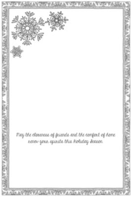 LANG Winter Happiness Boxed Christmas Cards - Coloring (1004785)