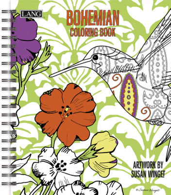 LANG Bohemian Coloring Book
