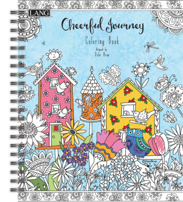 Lang Cheerful Journey Coloring Book