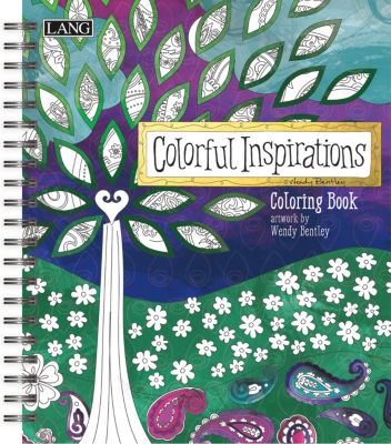 LANG Colorful Inspirations Coloring Book