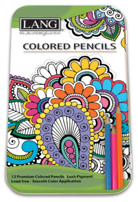 Lang Colored Pencils - Set Of 12 Colored Pencils