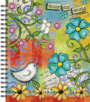 LANG Color My World Spiral Bound Sketchbook