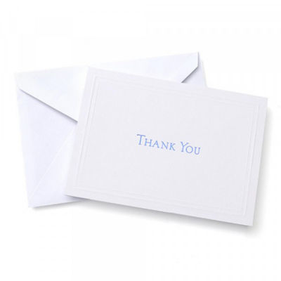 Gartner Studios Navy Blue Thank You Cards