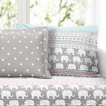 Lush Décor Elephant Stripe 6PC Daybed Cover Set
