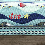 Lush Décor Sealife 6PC Daybed Cover Set