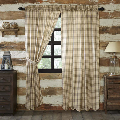 VHC Brands Elaine Scalloped Window Treatments