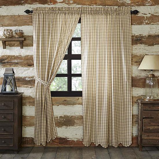 VHC Brands Elaine Scalloped Window Treatments