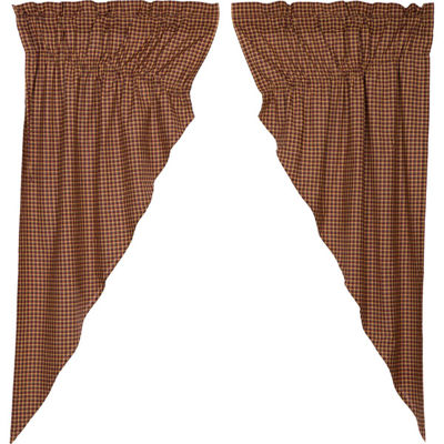VHC Brands Patriotic Patch Window Treatments