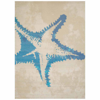 United Weavers Panama Jack Collection Sea Life Rectangular Rug