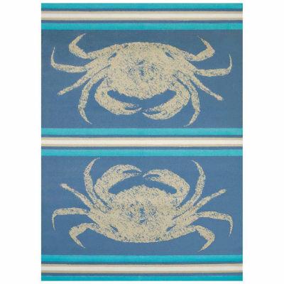 United Weavers Panama Jack Collection Stone Crab Rectangular Rug
