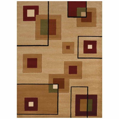 United Weavers Studio Collection Cinder Rectangular Rug