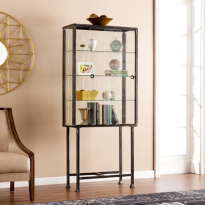 Sliding Door Accent Cabinet