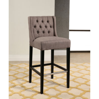 Devon & Claire Chamber Tufted Bar Stool