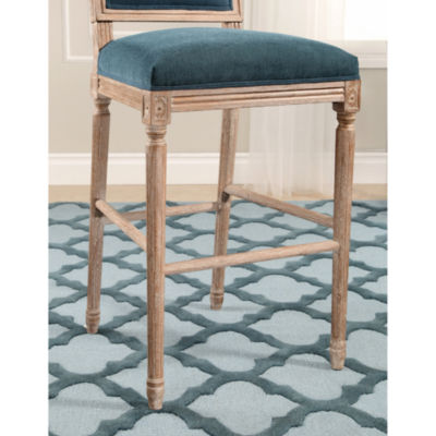 Devon & Claire Antoinette Rectangle Back Bar Stool