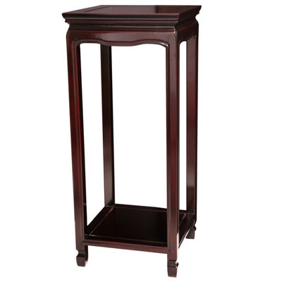 Rosewood Oriental Square Chairside Table