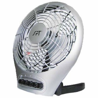 "SPT SF-0703: 7"" Desktop Fan with Ionizer"
