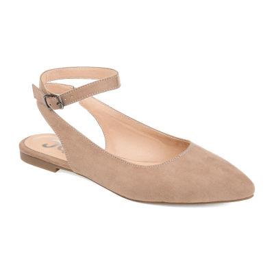 Journee Collection Womens Jc Preea Slip-On Shoe Pointed Toe