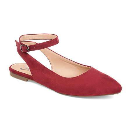Journee Collection Womens Preea Slip-On Shoe, 8 Medium, Red