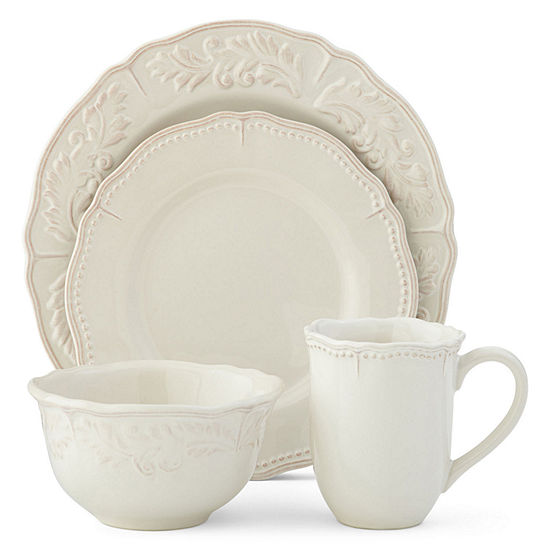Hotel Collection Plates: JCPenney Home Amberly 16 Pc Dinnerware Set
