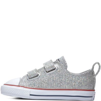 Converse Chuck Taylor All Star Ox Toddler Girls Hook and Loop Sneakers