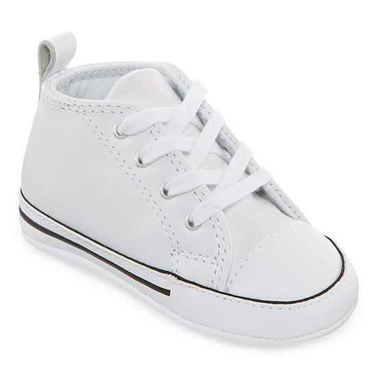Converse Unisex Kids Chuck Taylor First Star Crib Shoes Elastic