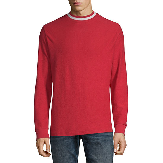 Arizona Mens Long Sleeve Mock Neck Top