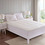 "Flexipedic by Sleep Philosophy 3"" Memory Foam Mattress Topper"