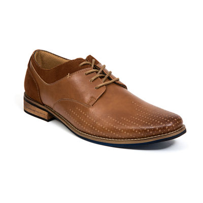 Deer Stags Mens Calgary Oxford Shoes Lace-up Round Toe