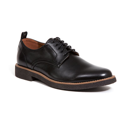 Deer Stags Mens Highland Lace-up Round Toe Oxford Shoes