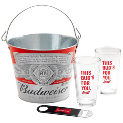 Budweiser® Bucket Gift Set