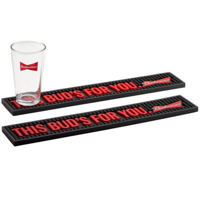 Budweiser® 2-pc. Bar Mat Set