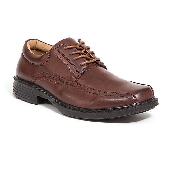Deer Stags Mens Williamsburg Lace-up Square Toe Oxford Shoes