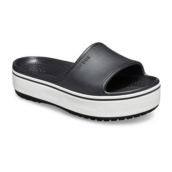 ac4e035f7c2a Crocs Unisex Adult Crocband Platform Slide Slide Sandals - JCPenney