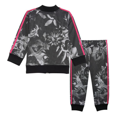 adidas 2-pc. Pattern Pant Set Girls