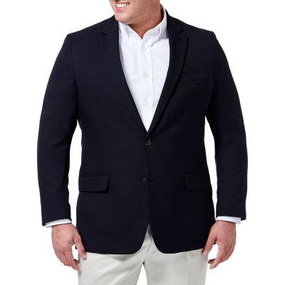 JM Haggar In Motion Tailored Fit Blazer - Big & Tall